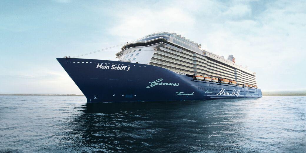 Mein Schiff: Kreuzfahrt ab Bremerhaven